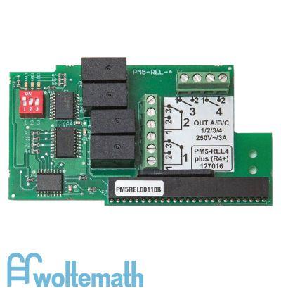 PM5-REL4 plus Relais-Steckprint