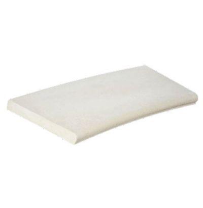 Beckenrandsteine Weiß, für 3,6 x 6,25 m Achtformbecken